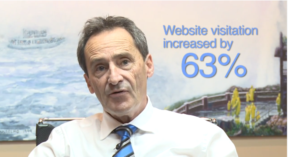Skylon Towers Lee Carr gives Testimonial for Surround Integrated Marketing