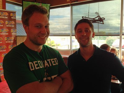 Furious Pete and Chris Stasiuk