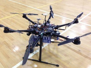 Sky Eye Media prototype aerial video drone, Hextor, brings impossible shots with Signature Video Group