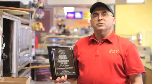 Gino's Pizza – Franchisee Of The Year