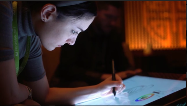 Drawing With Intel
