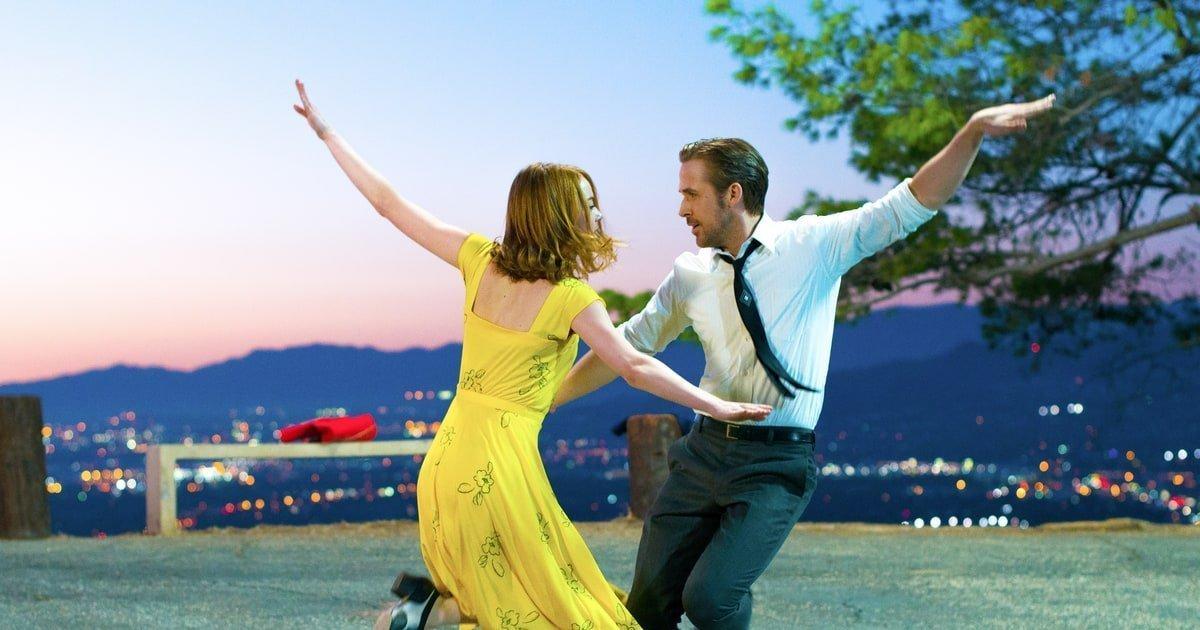 La La Land Dancing with Ryan Goseling and Emma Stone