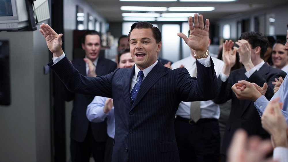 Monday Motivation: The Wolf of Wall Street