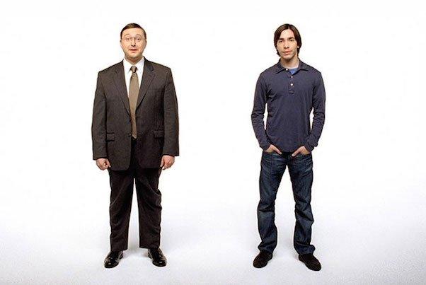 2 Men Standing Still