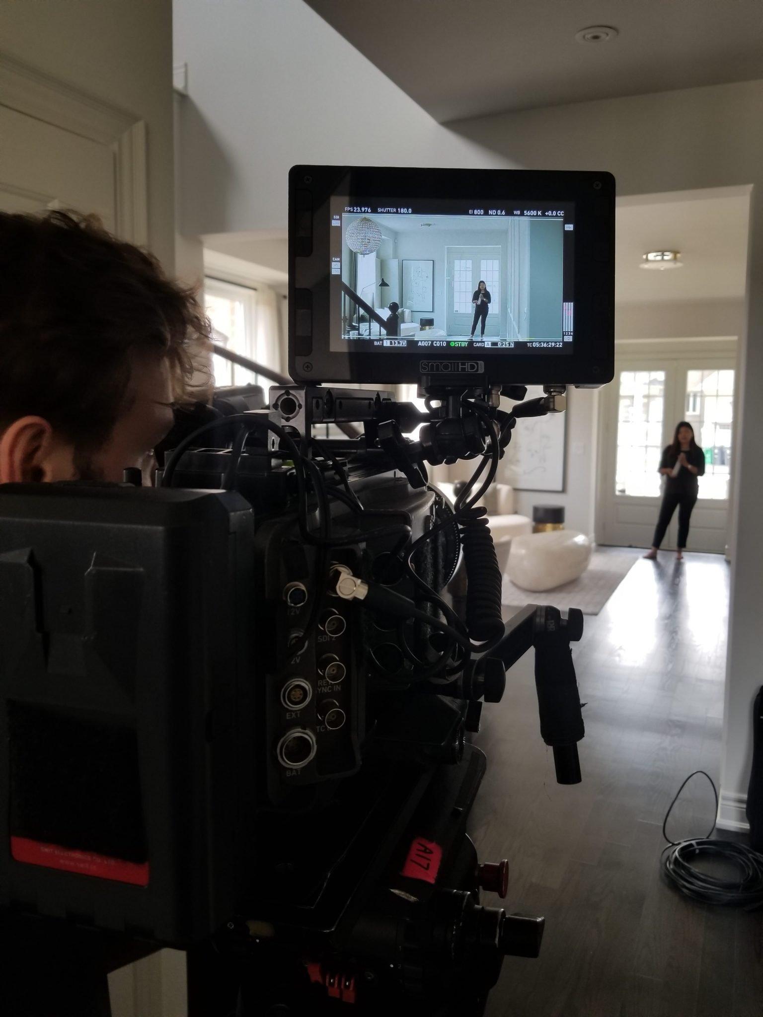 Filming for Tarion Home Warranty in Brampton