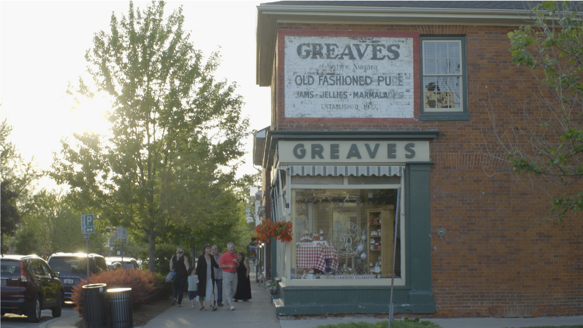 Toronto Video Production Company - Greaves Preserves Niagara on the Lake