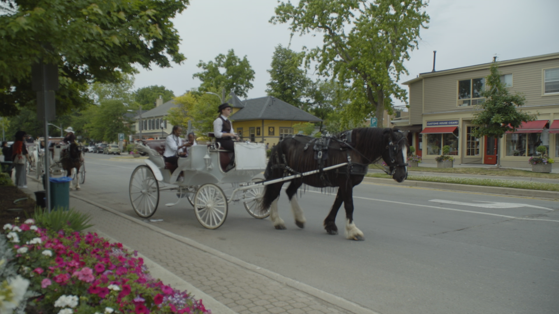 Niagara on the lake horse drawn carriage ride King St