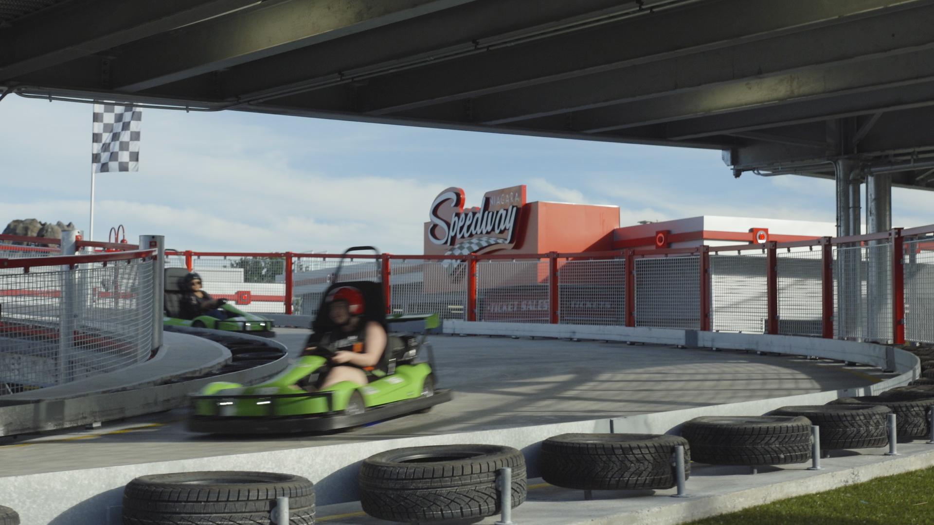 Niagara Speedway in Niagara Falls