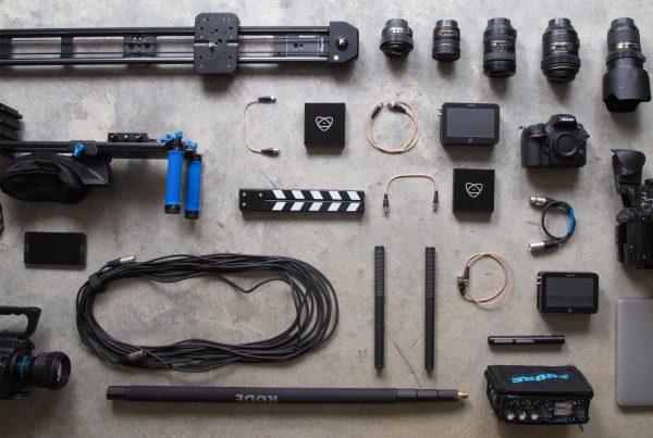 Camera gear for Filmmaking