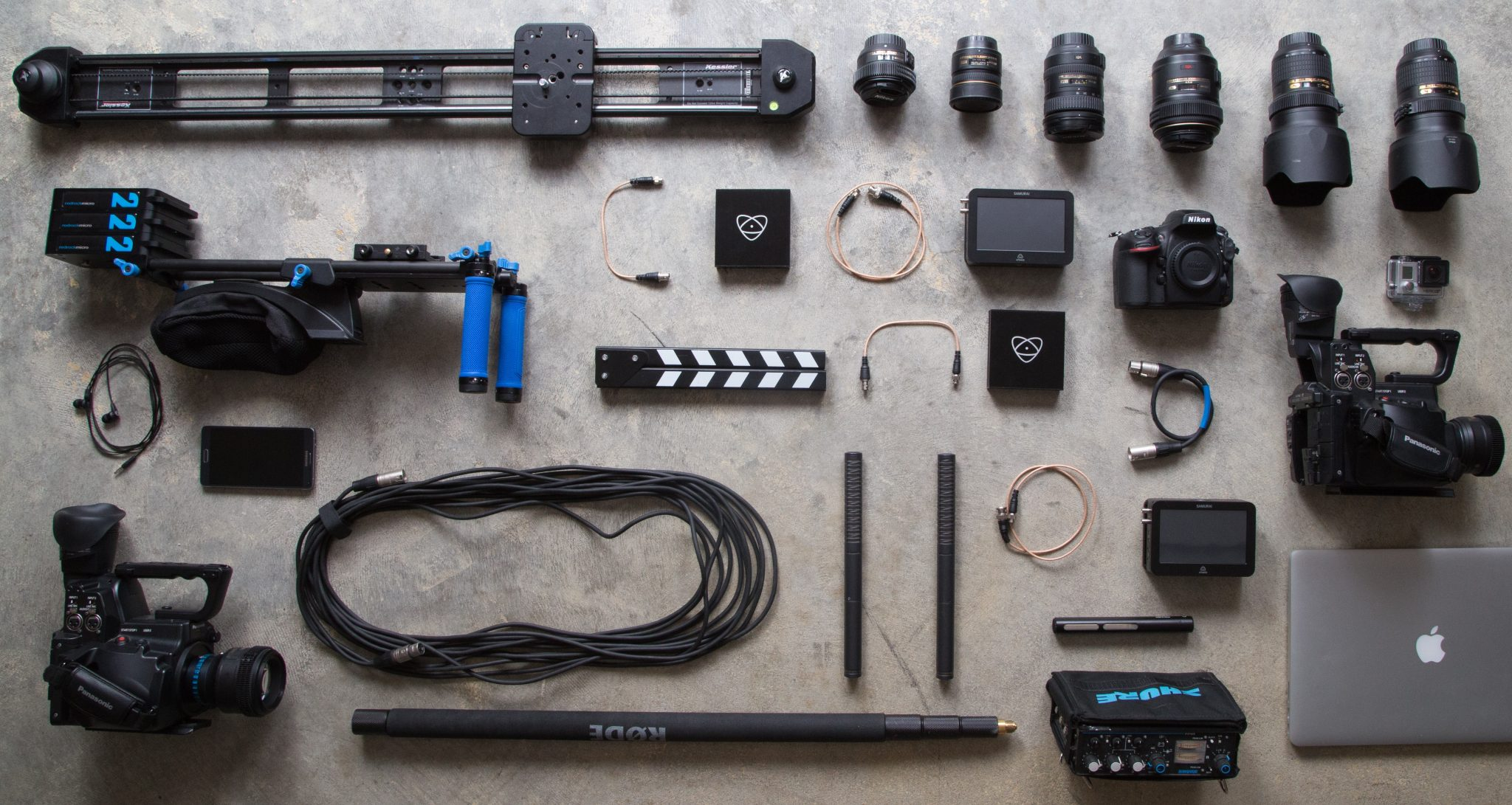 Camera gear for Filmmaking