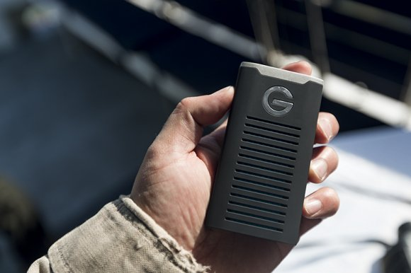 G Drive SSD Portable Hard Drive for Filmmakers