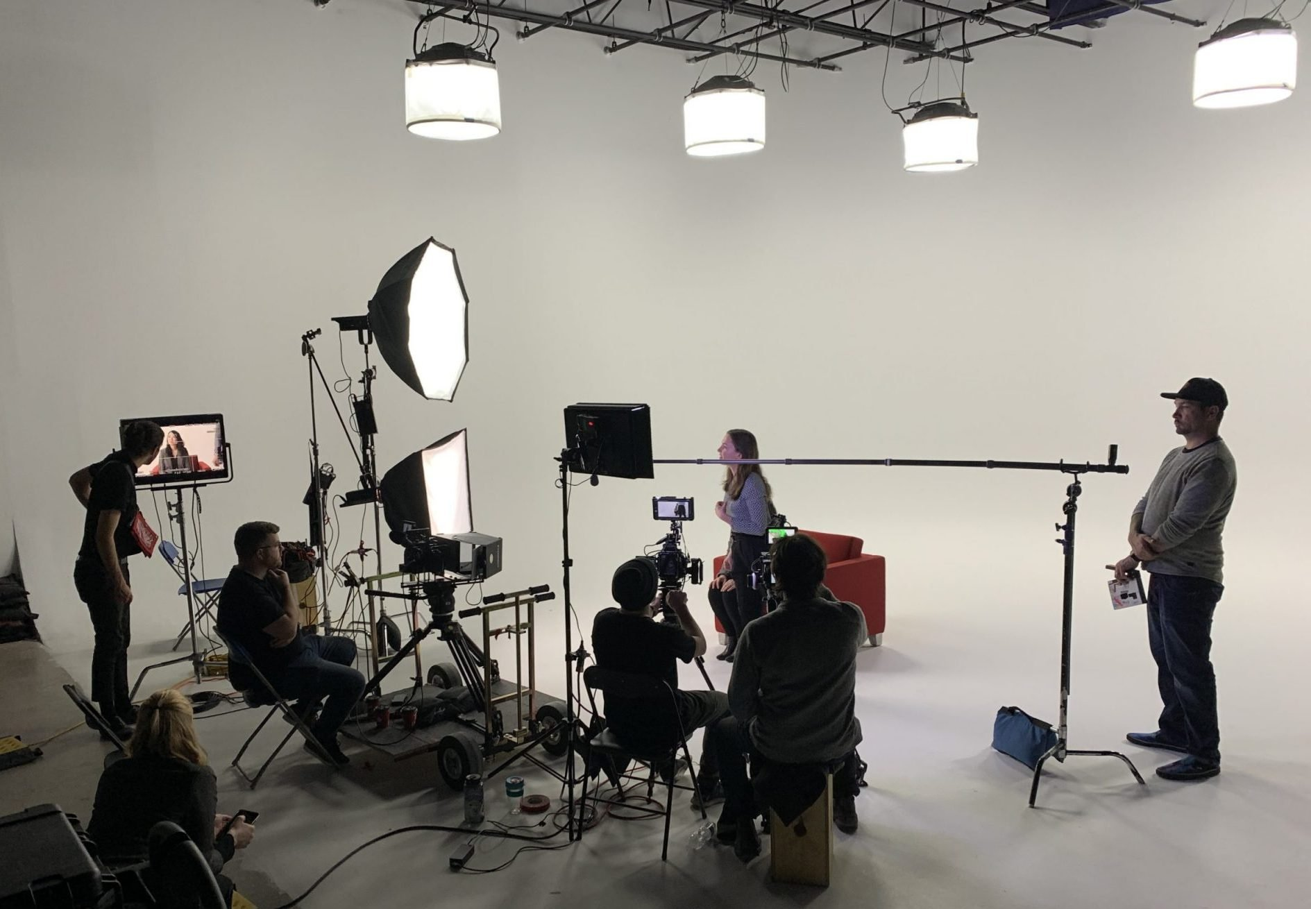 On set with Signature Video Group